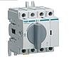 Выключатель напряжения (рубильник) поворотный Hager HAB403 4P 32А