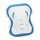 Набор роликовые коньки + комплект защиты JINGFENG 172, размер 31-38, фото 4