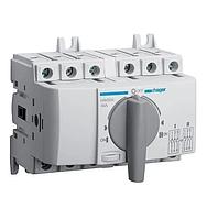 Выключатель напряжения (рубильник) поворотный Hager HIM304 I-0-II 40А 400/690В 3P 5м
