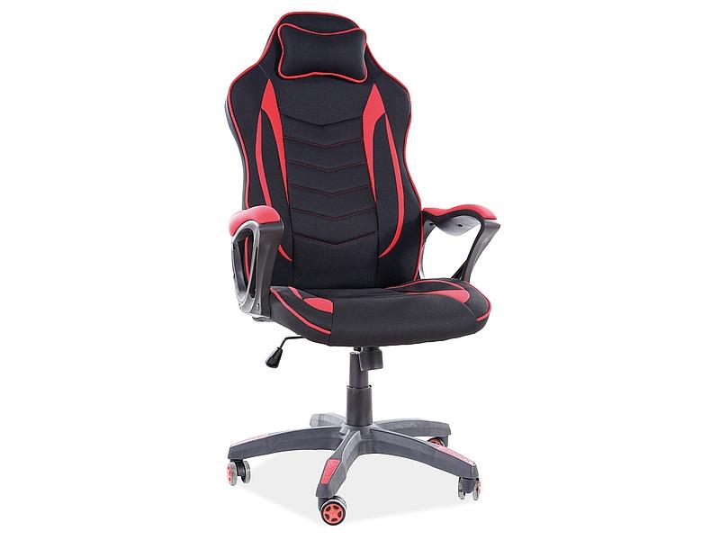 Крісло комп'ютерне ZENVO чорно червоний (Signal)