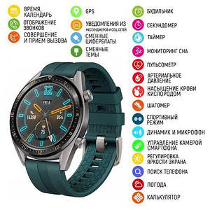 Modfit GT05 Green-Silver Silicone