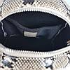 """Рюкзак """"Шайн"""" натуральна шкіра, бежева імітація під пітона, фото 6"""
