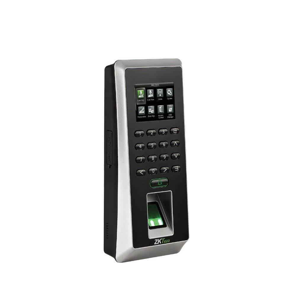 Биометрический терминал ZKTeco F21/ID со сканированием отпечатка пальца и карт доступа EM-Marine