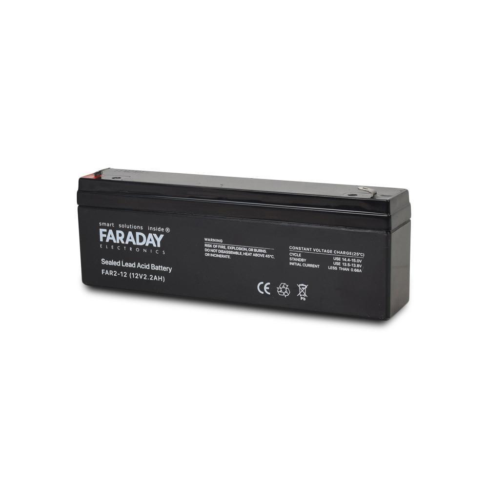Аккумулятор 12В 2 Ач для ИБП Faraday Ele