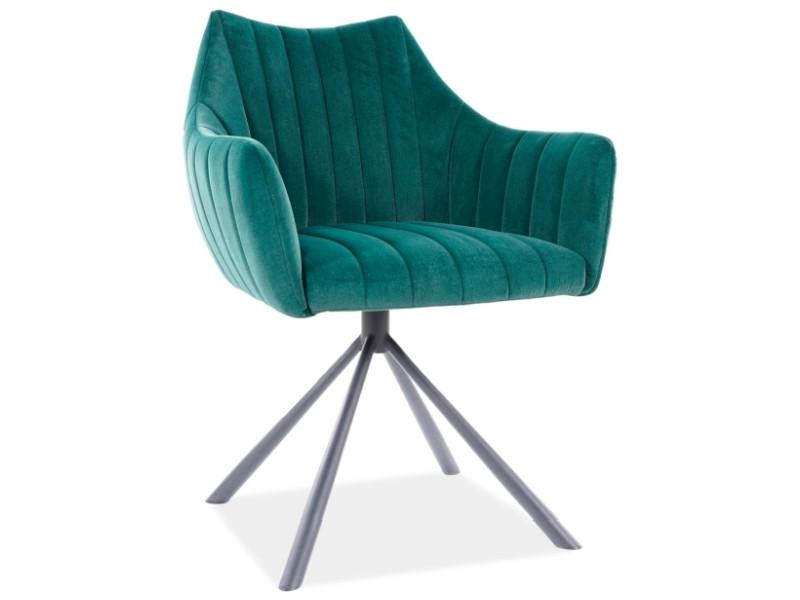 Крісло AGAVA VELVET зелений 180° (Signal)