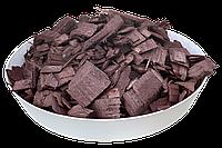 Щепа (тріска) декоративна кольорова GARDEN, 50л, коричнева, квадратна, 663