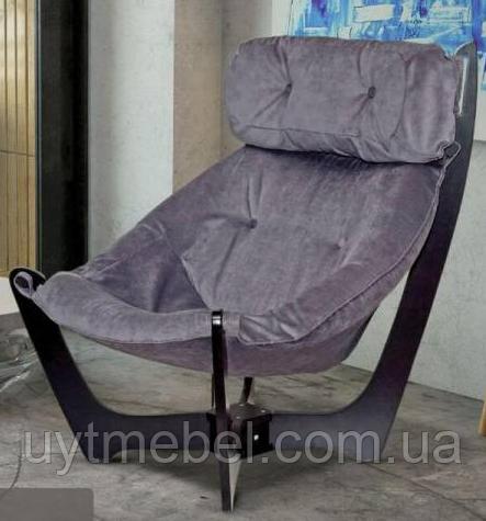 Крісло 2 гамак кат. 4 camel 07 (steel grey)/т. горіх (Диванофф)
