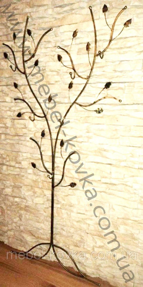 Кована вішалка у формі дерева 5