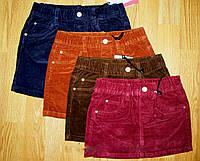 Вельветовые юбки на девочку Glo-Story 98-104  р
