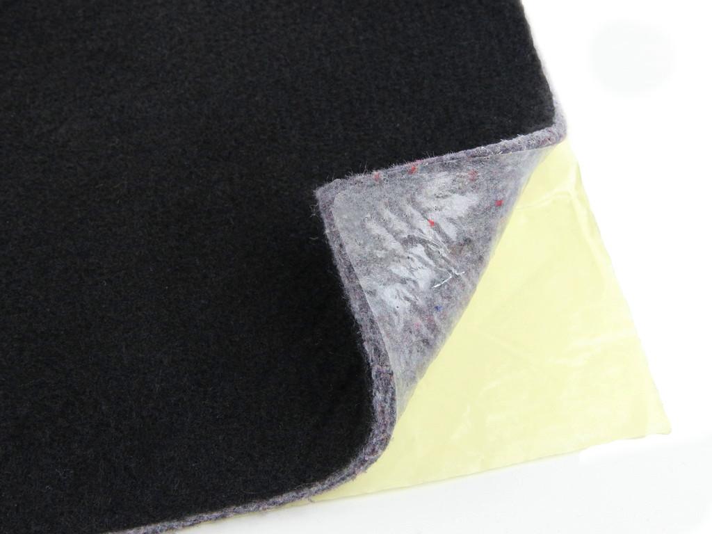 Шумо-звукоізоляція повстяна НВ-10К, ламінована нетканкой, 100х156 см, товщина 10 мм, самоклейка