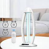 Кварцевая лампа бактерицидная озоновая 38W, фото 2