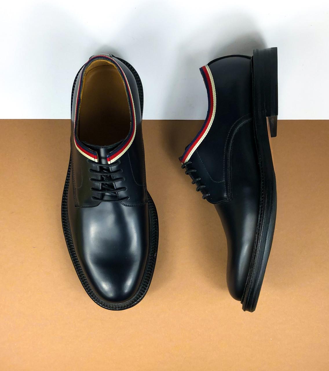 Мужские туфли Gucci (Гуччи) арт. 40-18