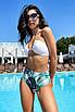 Женский раздельный купальник с высокой талией, фото 4