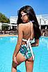 Женский раздельный купальник с высокой талией, фото 10