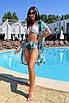 Женский раздельный купальник с высокой талией, фото 9
