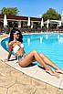 Женский раздельный купальник с высокой талией, фото 8