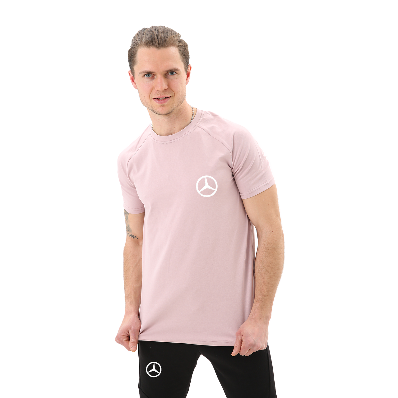 Мужская футболка Мерседес