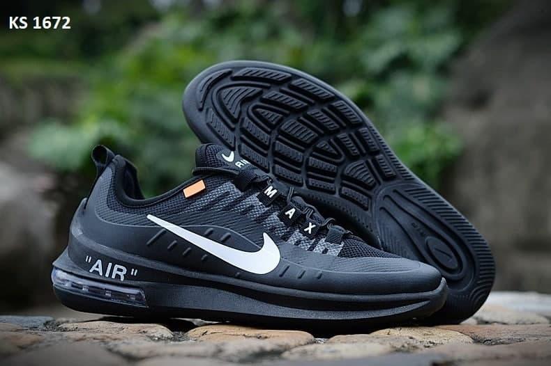 Мужские кроссовки Nike Air Max Axis Athletic (черные) KS 1672 повседневная стильная обувь