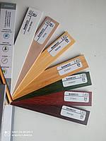 Деревянные жалюзи цвет натуральный, бамбуковые жалюзи карбон, клён, осина