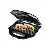 Електрична сендвичница бутербродниця притискна гриль DSP KC1056 750 Вт, фото 7
