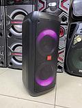 """Портативна бездротова акустична колонка з Bluetooth ZXX 5506 c мікрофоном 30Вт 6"""" USB/SD/FM/BT/MIC/ДУ, фото 4"""