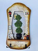 Ключниця настінна Poppies 123627 Найкраща якість