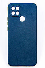 Чeхол-накладка Dengos Carbon для Oppo A15/A15s Blue (DG-TPU-CRBN-116)