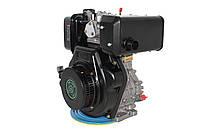 Двигун дизельний GrunWelt GW186FВ (9,5 л. с., шліци)