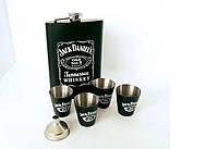 Подарочный набор Фляга Jack Daniels Black 119258 Лучшее качество