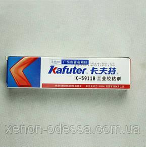 Черный клей-герметик многоцелевого назначения KAFUTER 5911B, фото 2