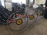 Сіноворушилка Сонечко на 3 колеса ТМ АРА (3 точки, мототрактор)