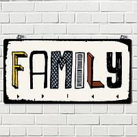 Ключниця настінна Родина 124519 Найкраща якість