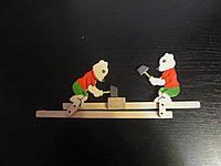 Детская игрушка деревянная Мишки
