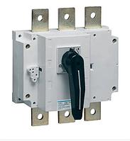 Выключатель напряжения (рубильник) поворотный Hager HA353 3P 200А