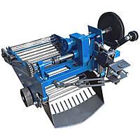 Картофелекопатель вибрационный транспортерный (со смещением прицепного) под мототрактор с гидравликой  Премиум