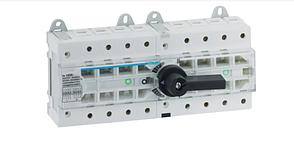 Выключатель напряжения (рубильник) поворотный Hager HI403R до 50мм2