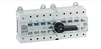 Вимикач напруги (рубильник) поворотний Hager HI404R I-0-II 80А 400/690В 4P 12м, фото 1