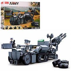 Конструктор SLUBAN M38-B0681 Військова техніка 368 дет.
