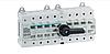 Выключатель напряжения (рубильник) поворотный Hager HI406R I-0-II 125А 400/690В 4P 12м