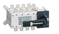 Вимикач напруги (рубильник) поворотний Hager HI452 до 95мм2, фото 1