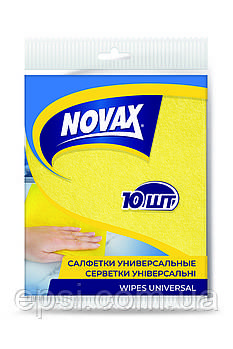 Салфетки универсальные Novax 10 шт