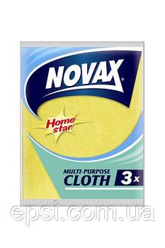 Салфетки универсальные Novax 3 шт