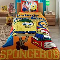 Подростковое постельное белье  DISNEY  от TAC Sponge Bob Students 85