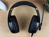 Наушники Onikuma K18 игровые с микрофоном и подсветкой, фото 4