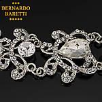 Браслет на руку женский BERNARDO BARETTI со стразами в бархатном футляре (B015), фото 2
