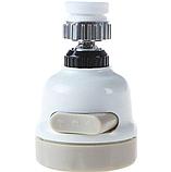 Экономитель воды Water Saver NEW 360 градусов, насадка на кран (аэратор), водосберегающая насадка, фото 3