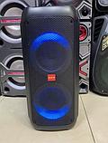 """Портативна бездротова акустична колонка з Bluetooth ZXX 5506 c мікрофоном 30Вт 6"""" USB/SD/FM/BT/MIC/ДУ, фото 2"""