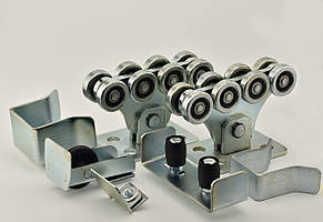 Фурнитура SP-5 Standart для откатных ворот весом до 500 кг (Длина направляющей 5 м)