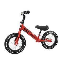 Беговел дитячий Baishs 058 Red двоколісний велосипед без педалей для малюків