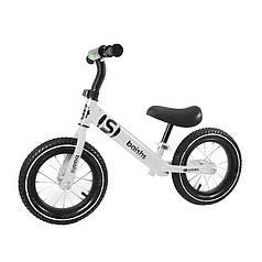 Беговел дитячий Baishs 058 White двоколісний велосипед без педалей для малюків